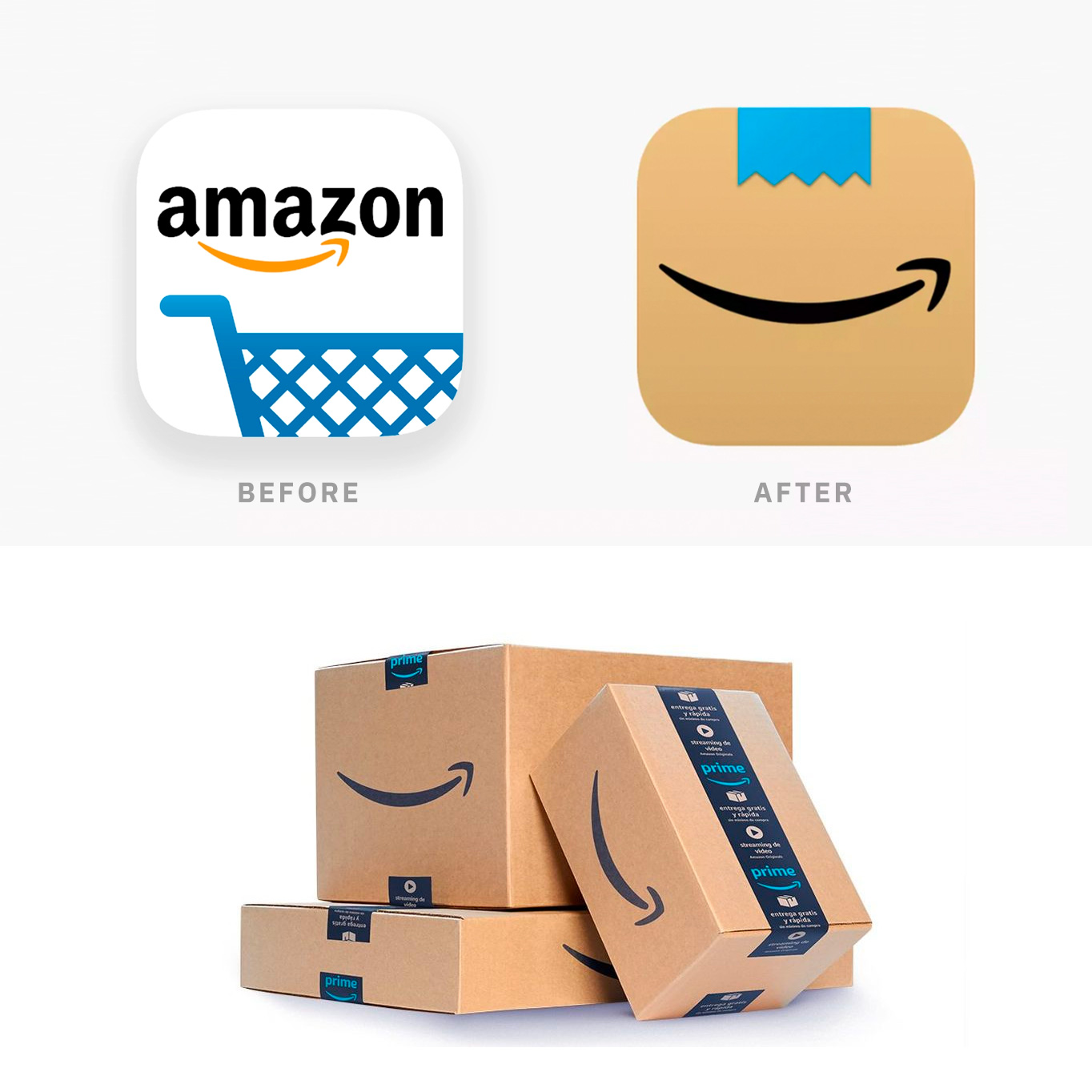 Amazon New App Icon