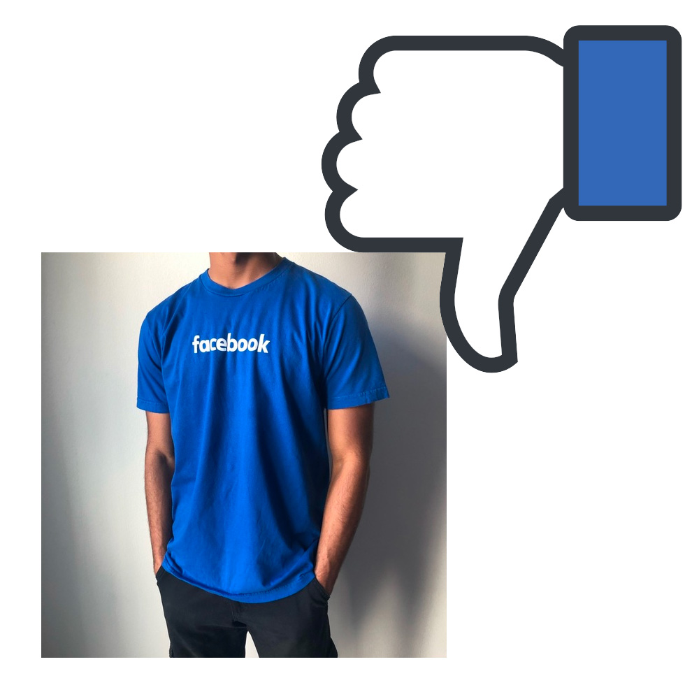 FB to Employees: Avoid Branded Apparel