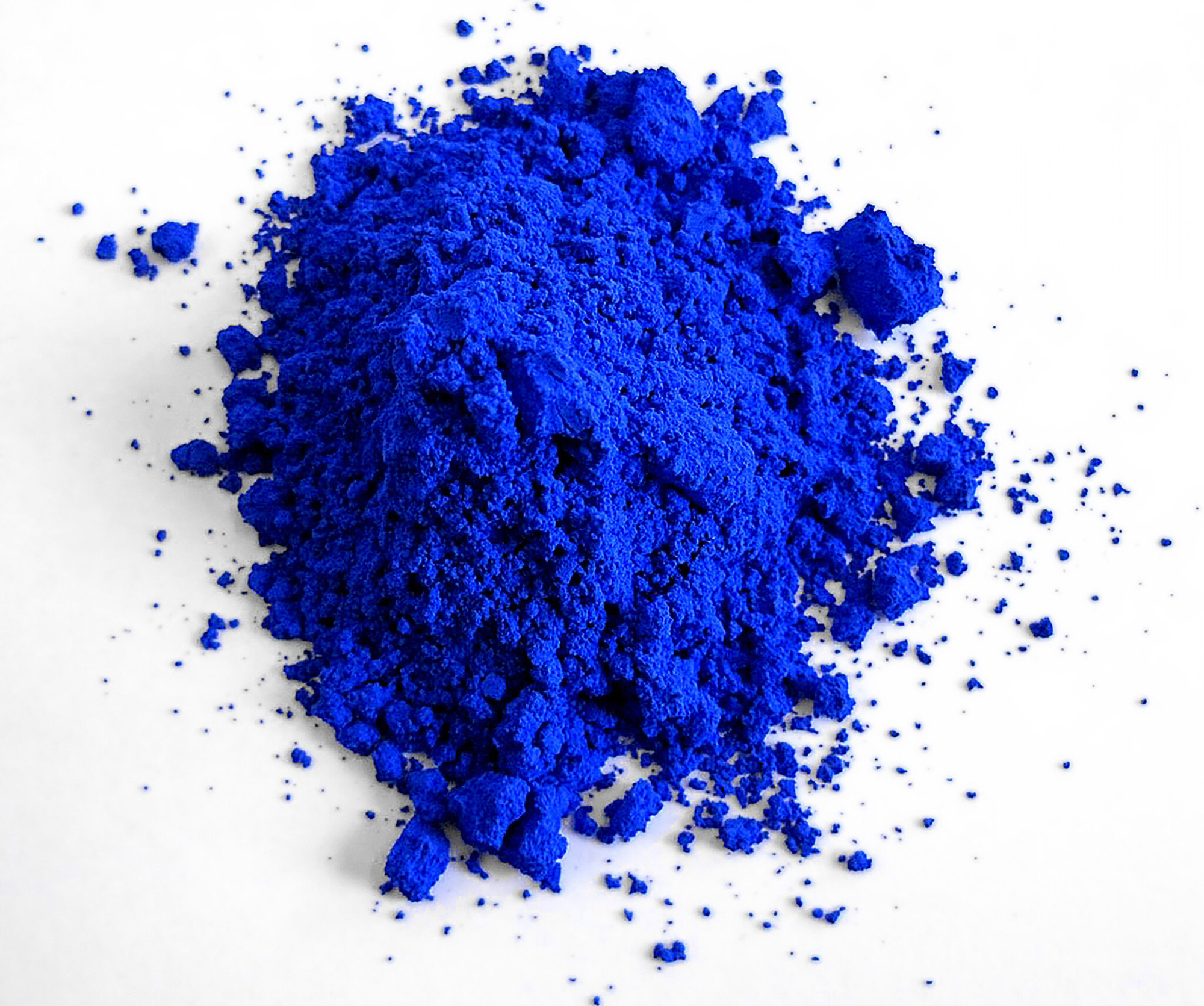 """""""That Blue"""" in Pigment Form"""