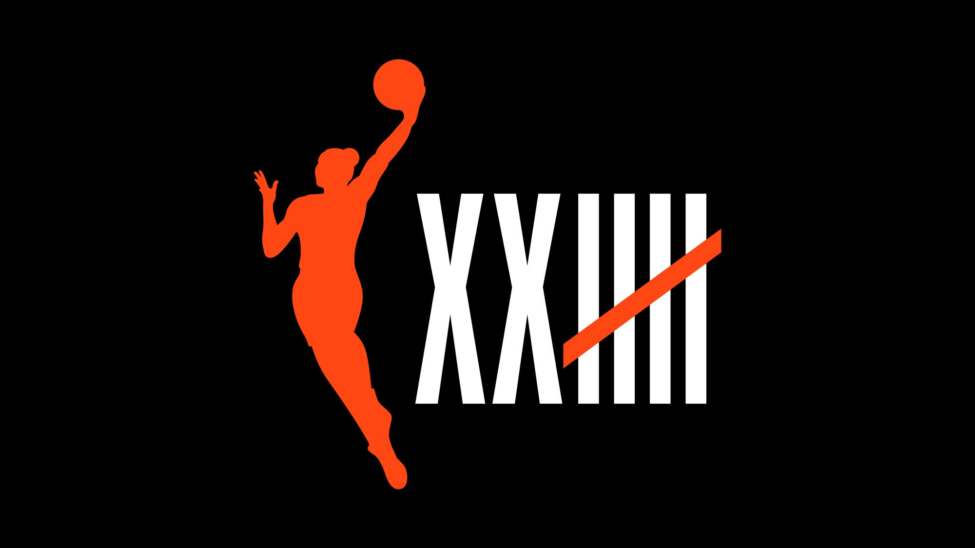 WNBA's 25th Anniversary Logo