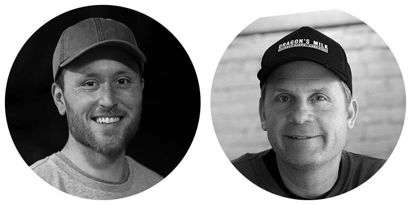 Adam Dickerson and Brett Vanderkamp, New Holland Brewery