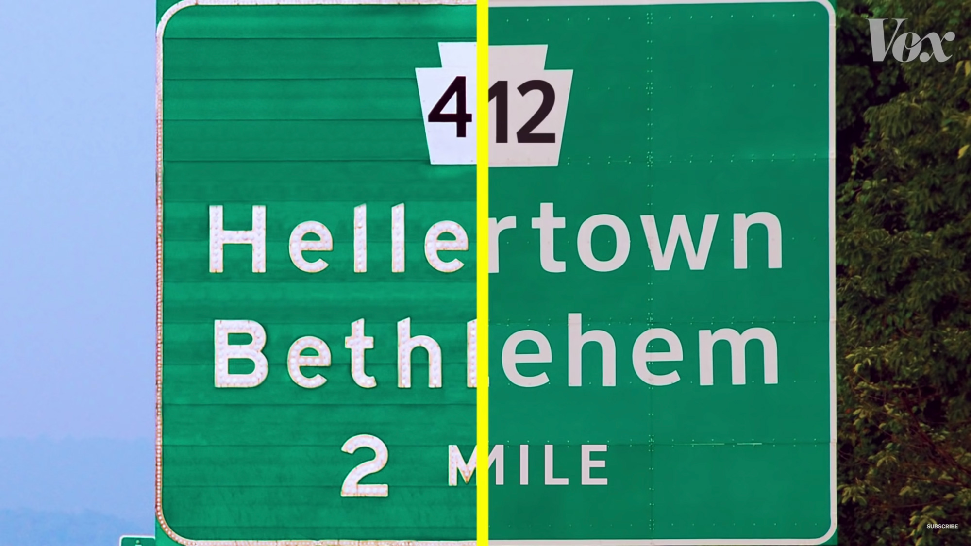 A Tale of Two Highway Fonts