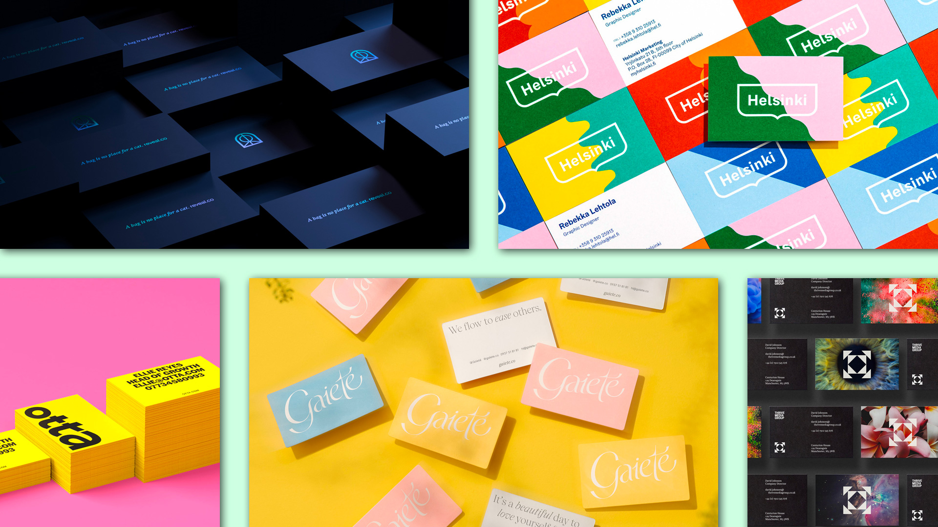 Collected: Business Cards