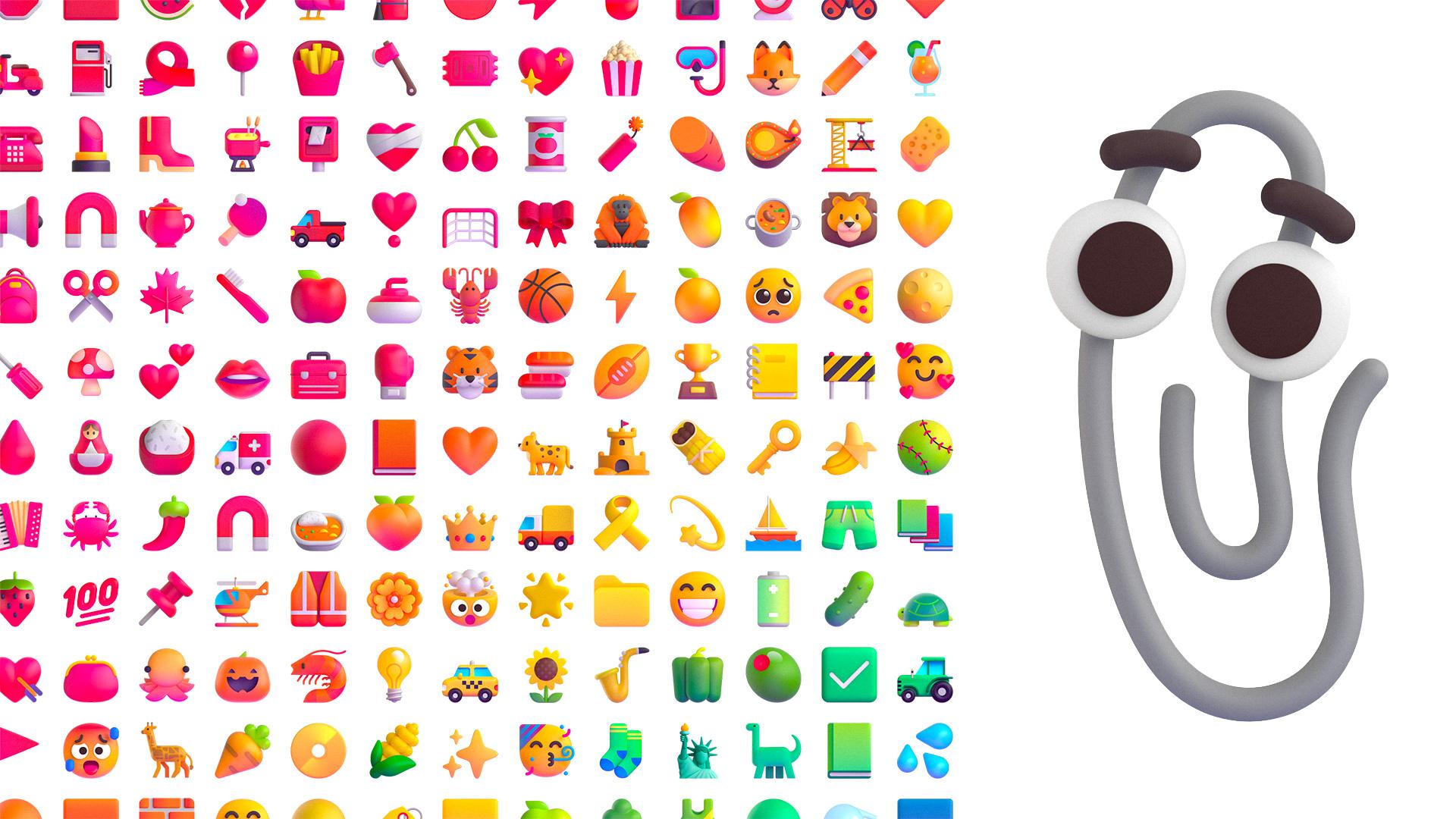 Microsoft's Fluent Emoji