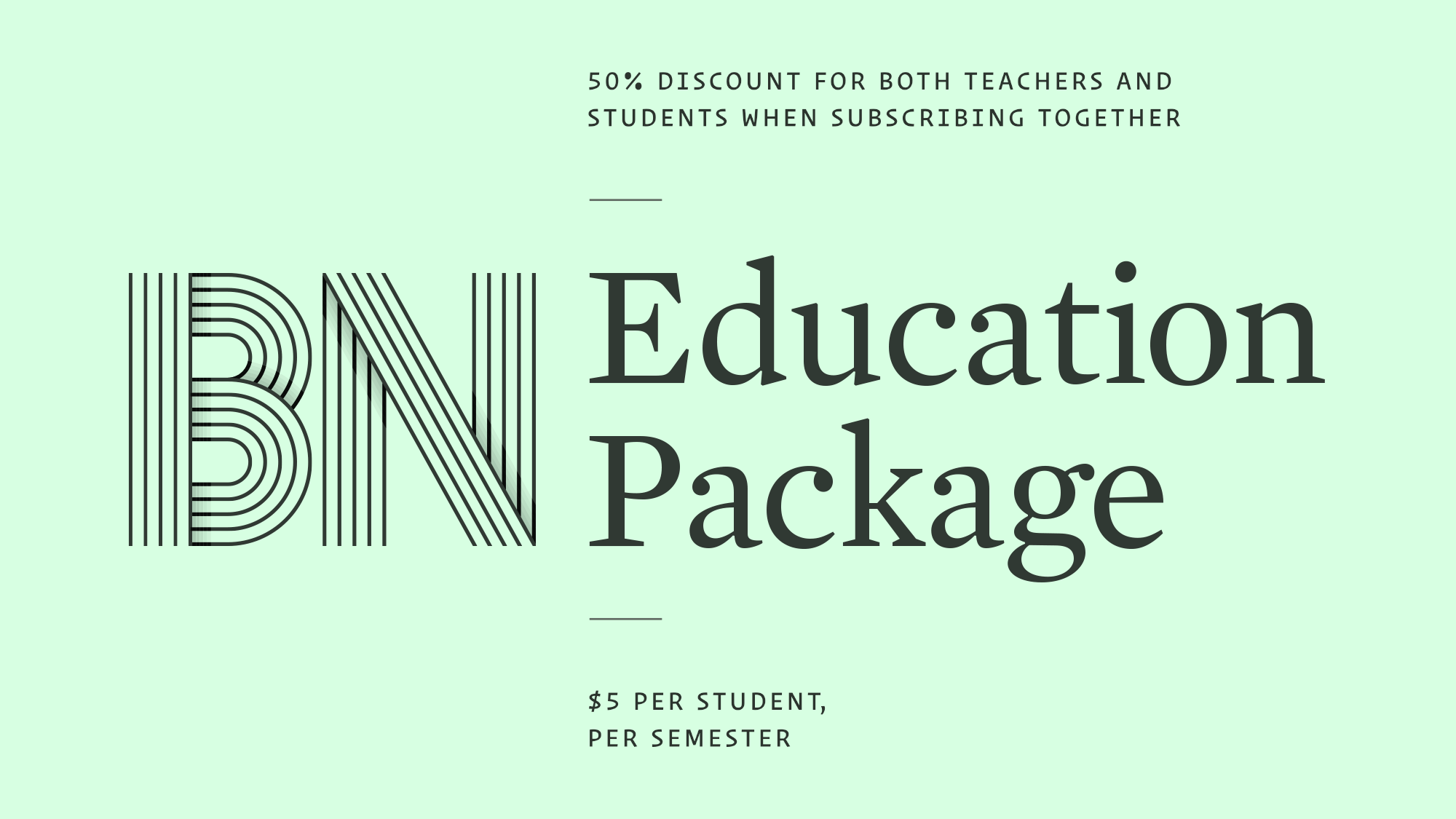 Subscription Education Package