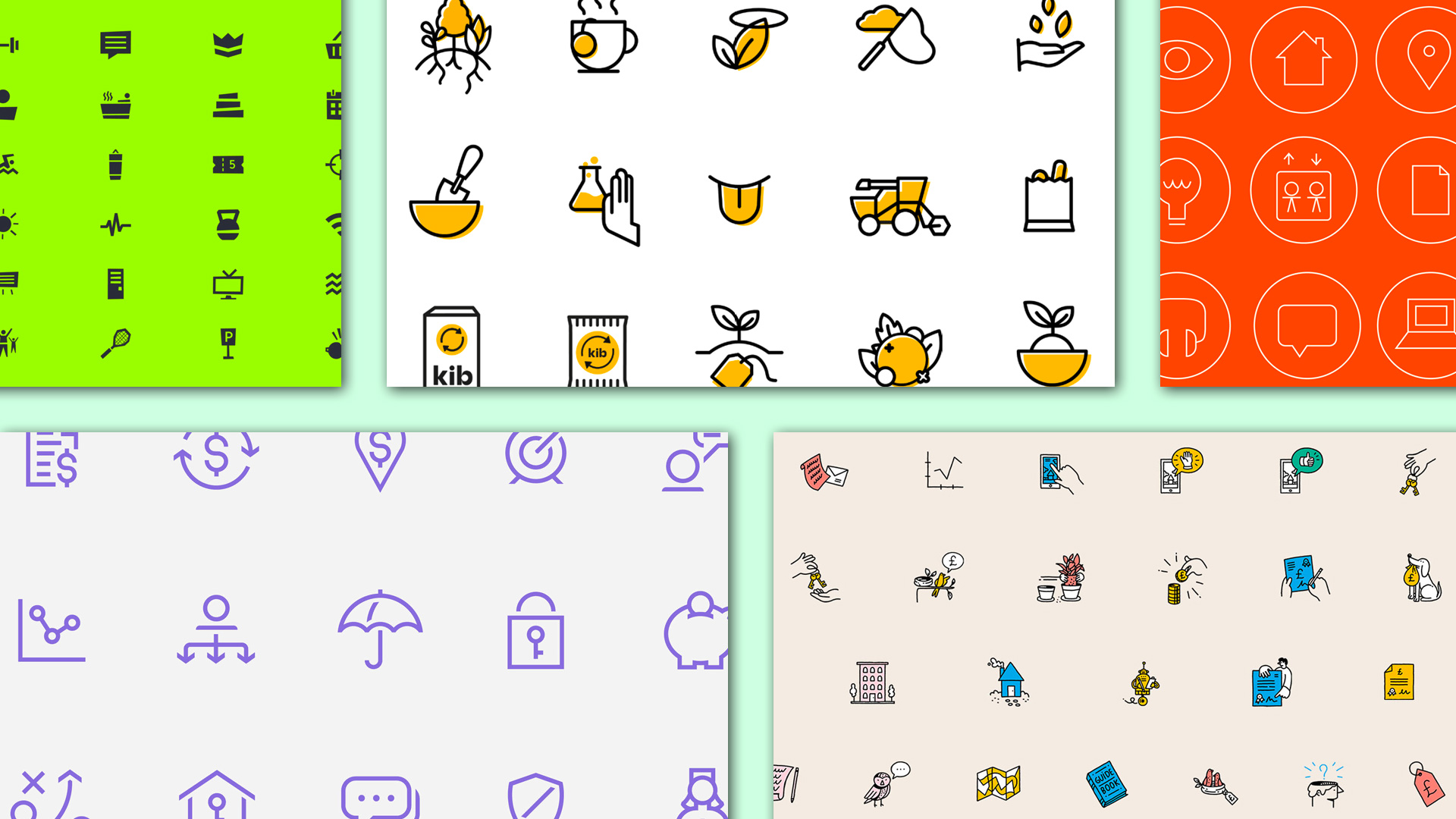 Collected: Icon Sets