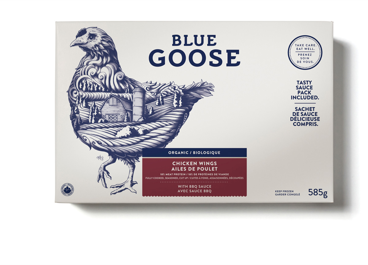 Blue Goose by Sid Lee