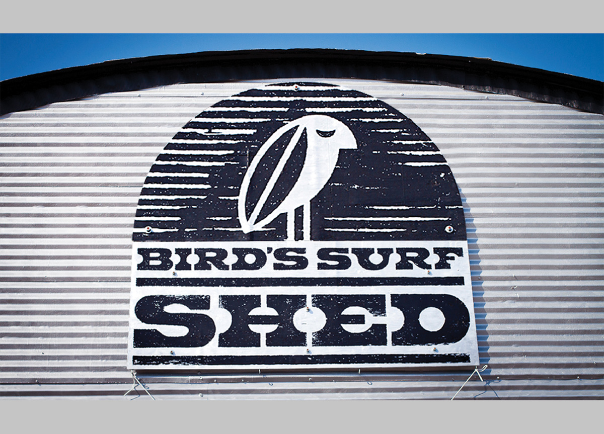 Bird's Surf Shed by MiresBall