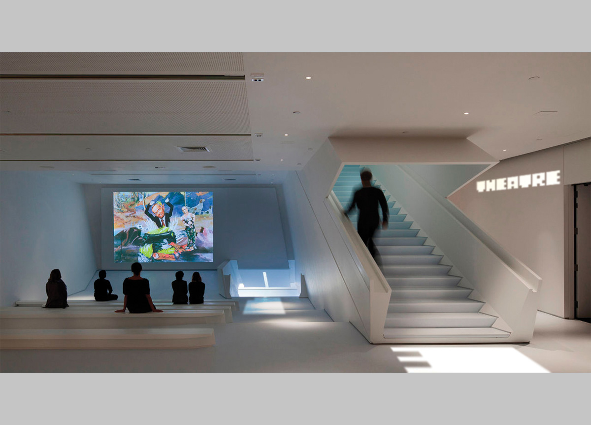 Museum of The Moving Image by Zipeng Zhu of School of Visual Arts