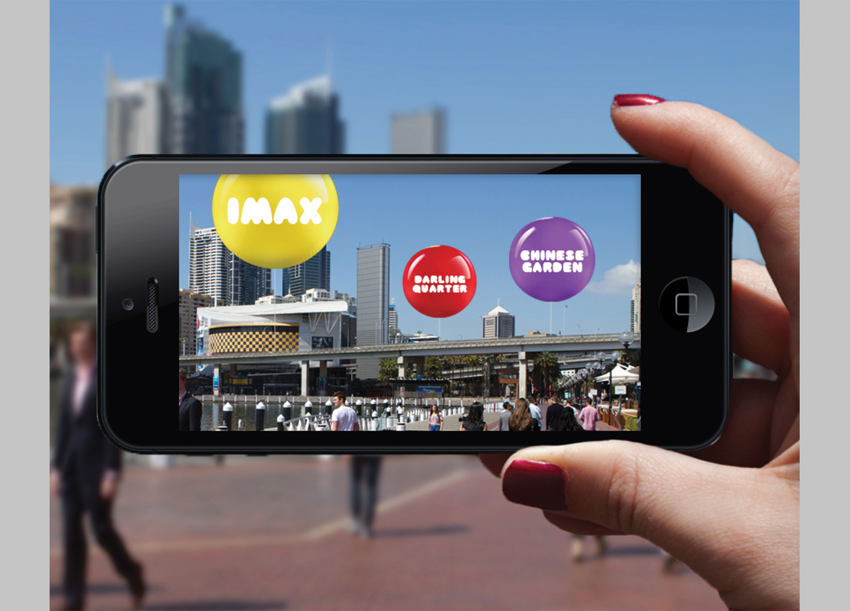 Darling Harbour by Interbrand Sydney