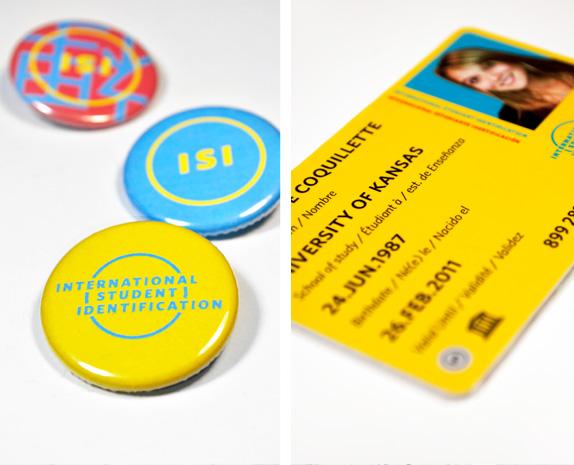 International Student Identity Card by Jordan Jacobson