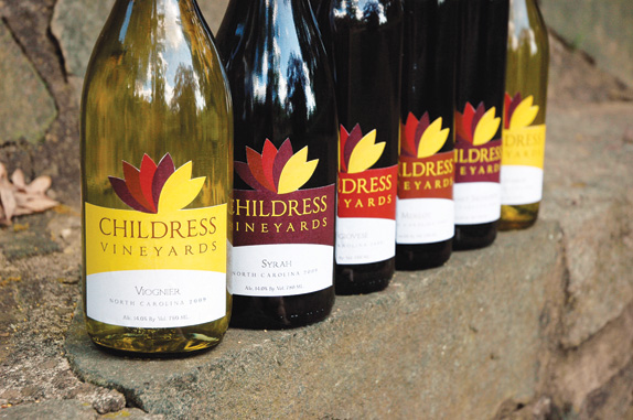Childress Vineyards by Emily Cuthbertson