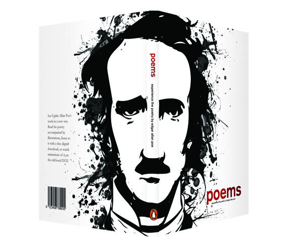 Edgar Allan Poe by Kate Marolf