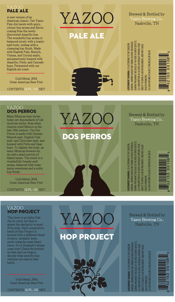 New Classroom Design ~ Yazoo beer packaging by holly taylor brand new classroom
