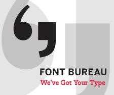 Font Bureau