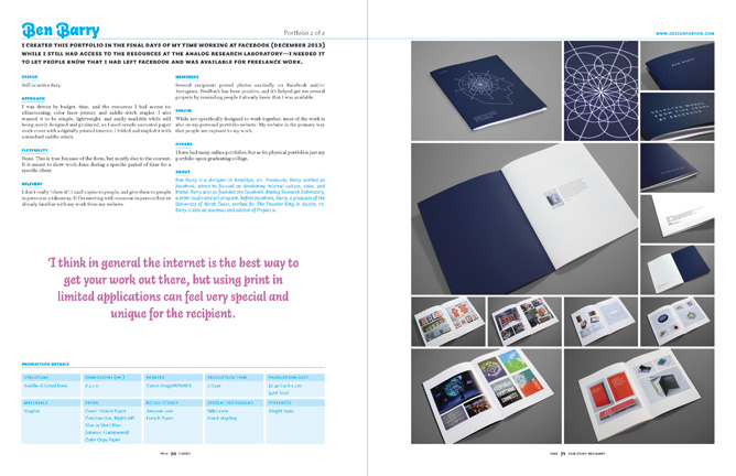 flaunt designing effective compelling and memorable portfolios of