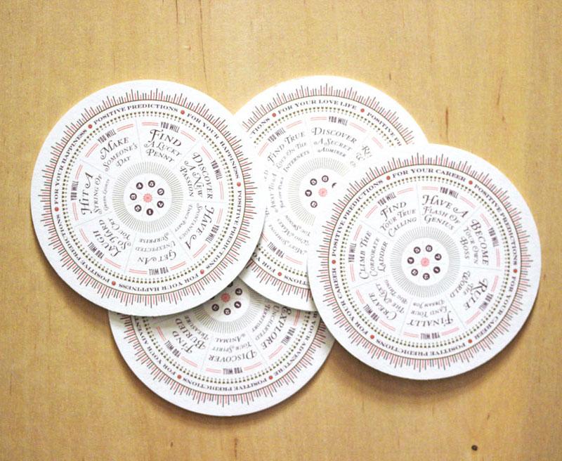 Fortune Teller Coasters