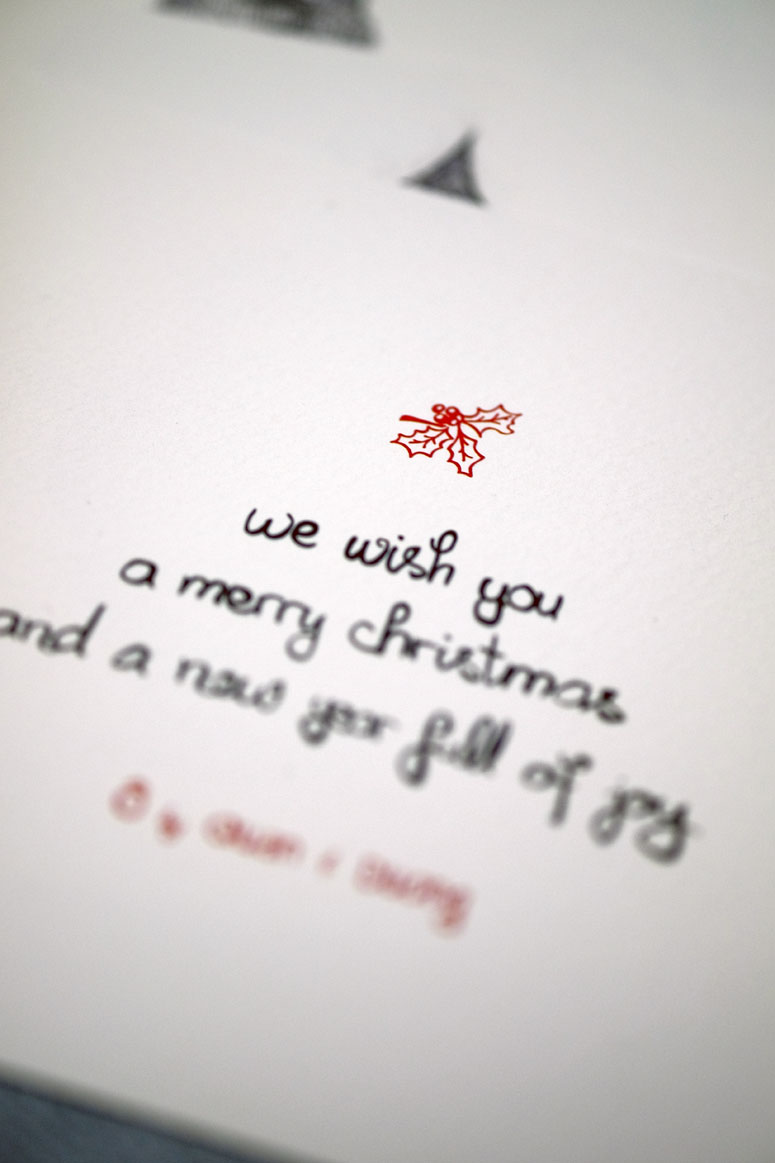 Oh Christmas Cards