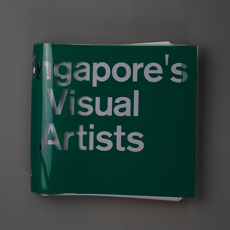 Singapore's Visual Artists Book by Do Not Design