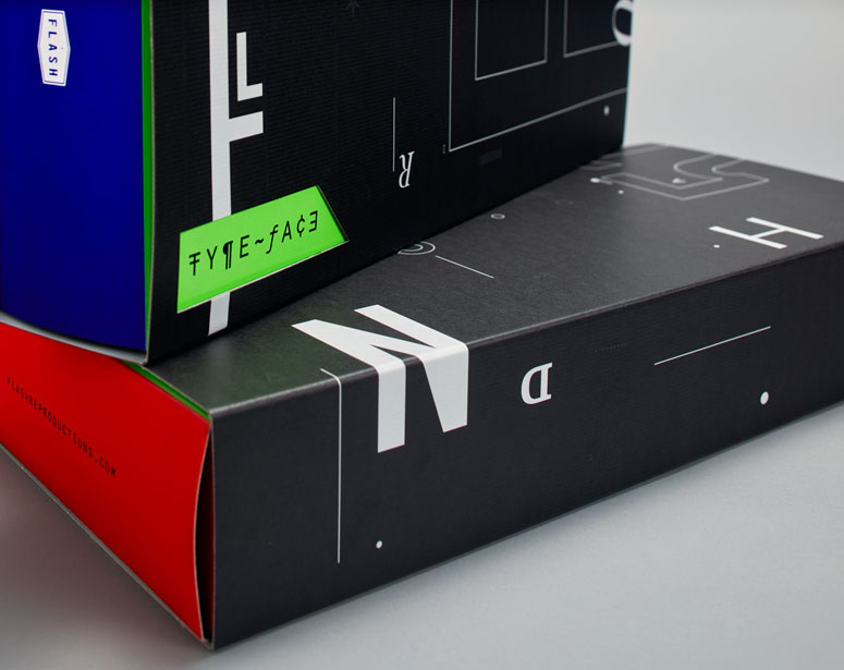 Type-Face Game Packaging