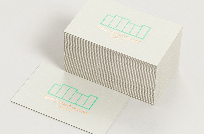 DHD Architectes Business Cards by Murmure