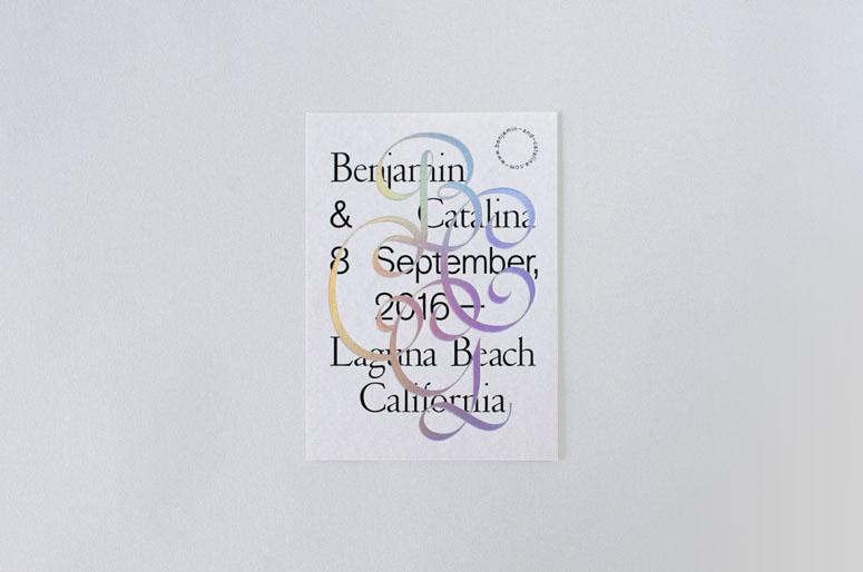 Benjamin & Catalina Wedding Announcement