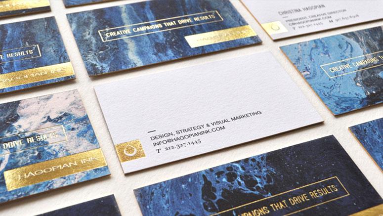 Hagopian Ink Business Cards