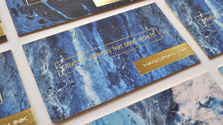 Hagopian Ink Business Cards