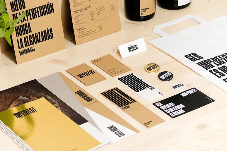 Imperfect Restaurant Materials