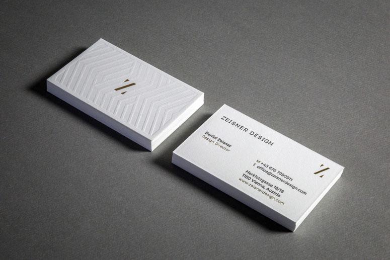 Zeisner Design Business Cards