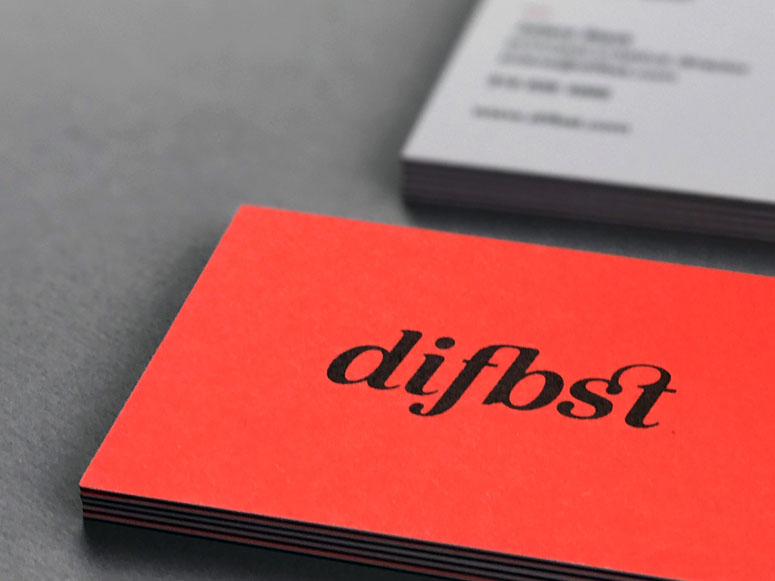 Different Beast Business Cards