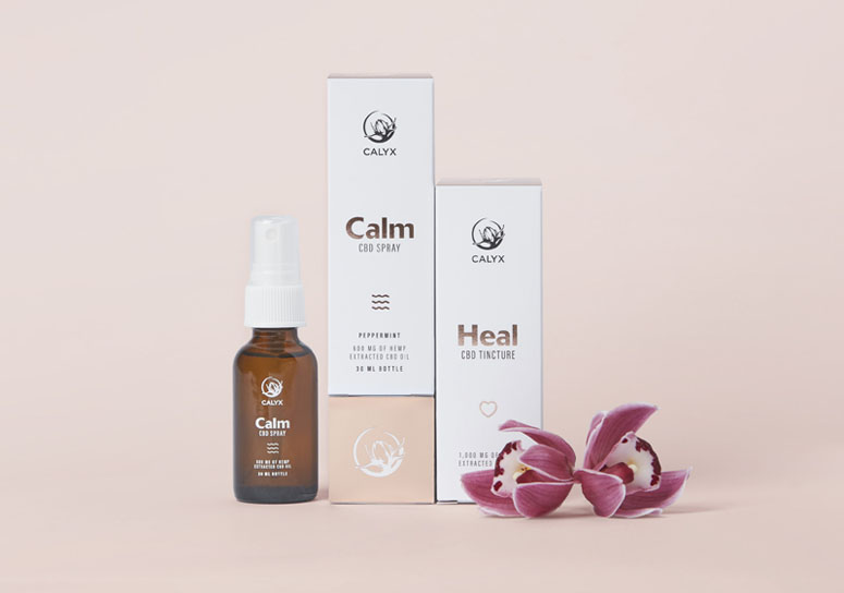 Calyx Wellness Centre Package Design