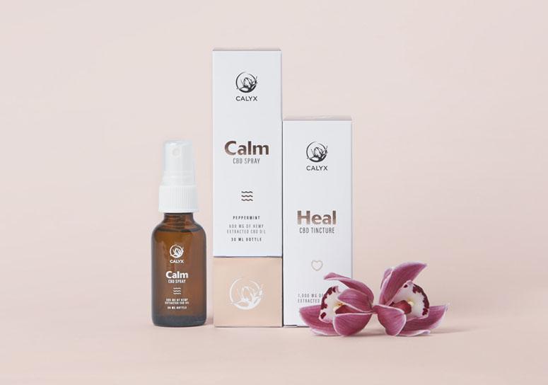 Calyx Wellness Centre Package Design