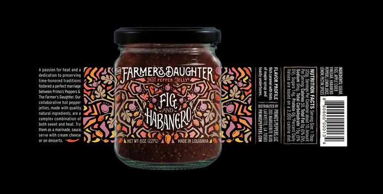 The Farmer's Daughter Hot Pepper Jelly