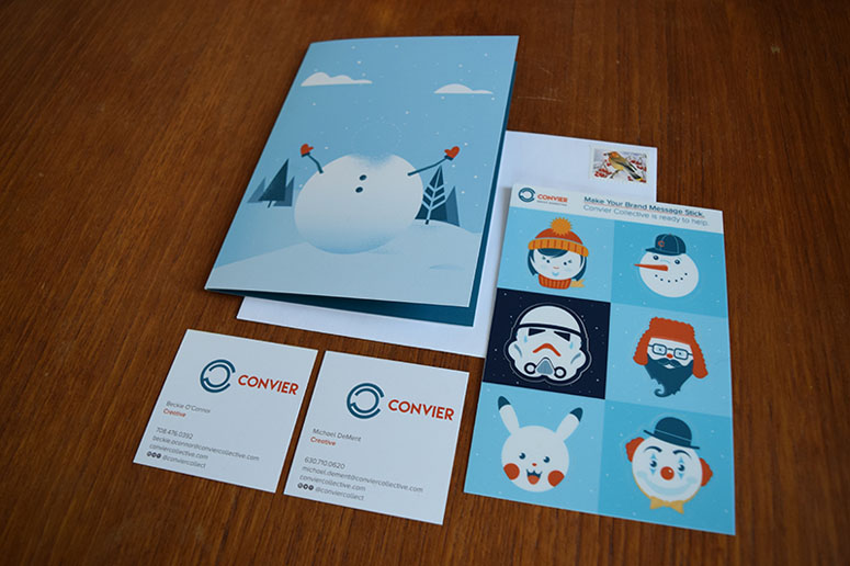 Convier Collective 2016 Holiday Card