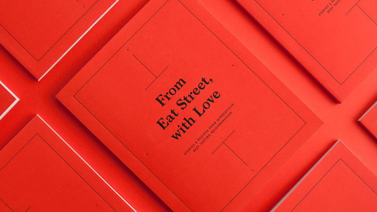 <em>From Eat Street, with Love</em> Self-promotion