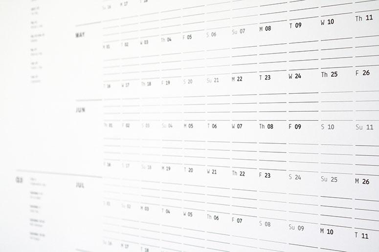 Print Prologue Wall Planner