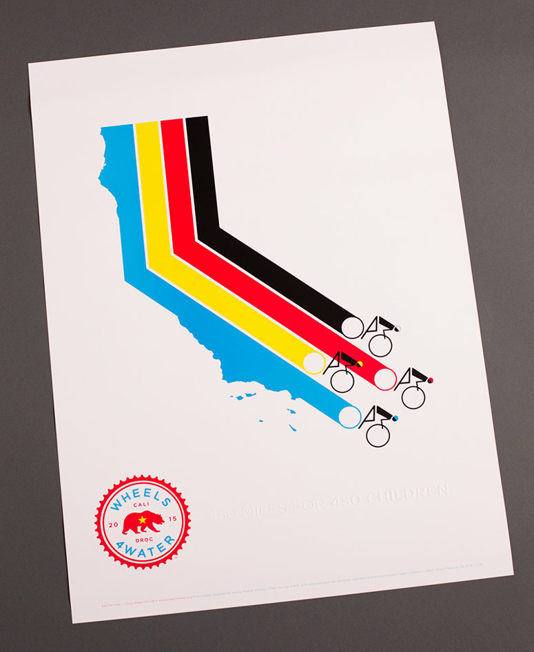 2015 Wheels4Water Poster
