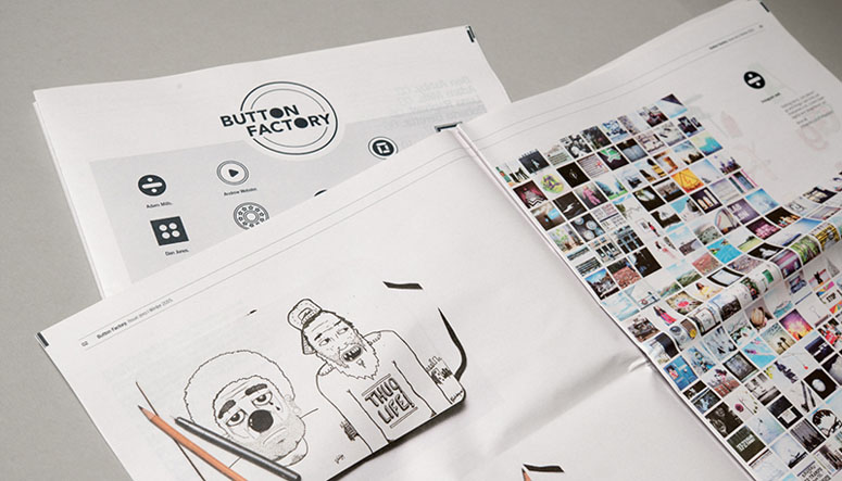 Button Factory | Issue zero