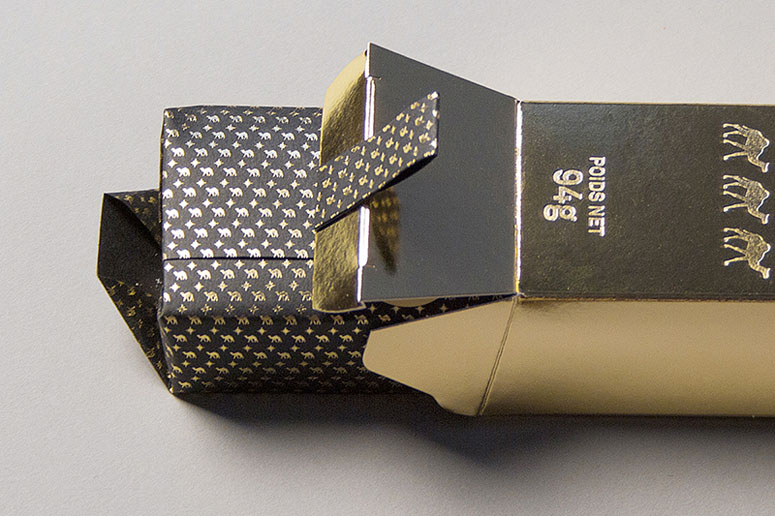 Monsillage Soap packaging