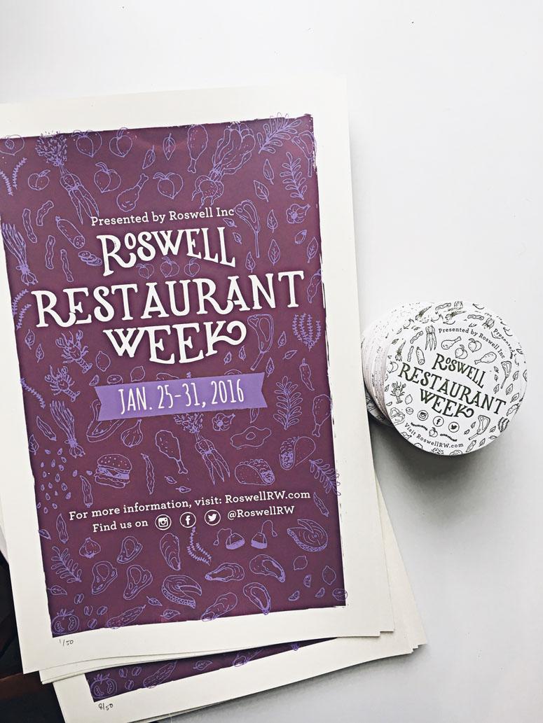 Roswell Restaurant Week Deliverables