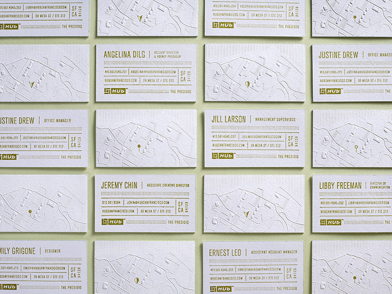 Hub Business Cards
