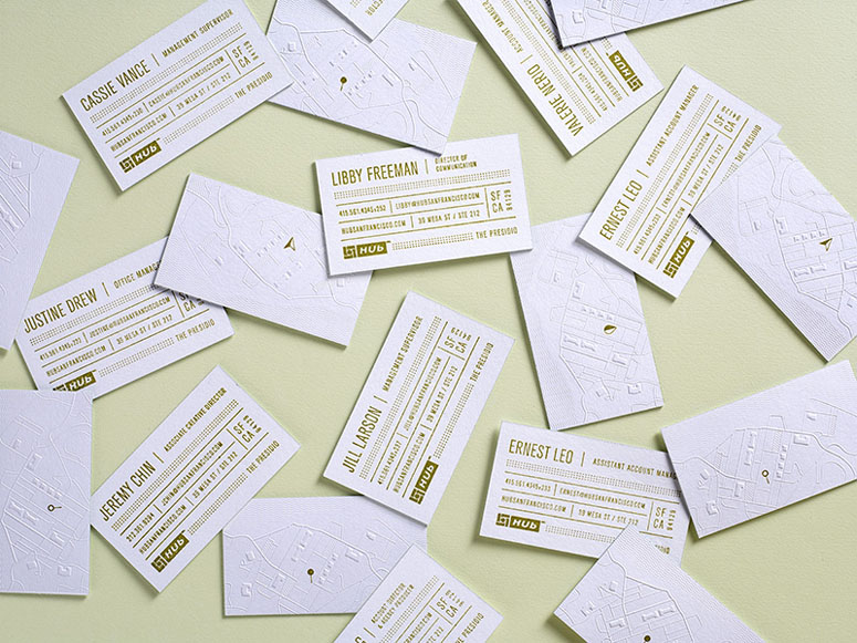 Hub Business Cards