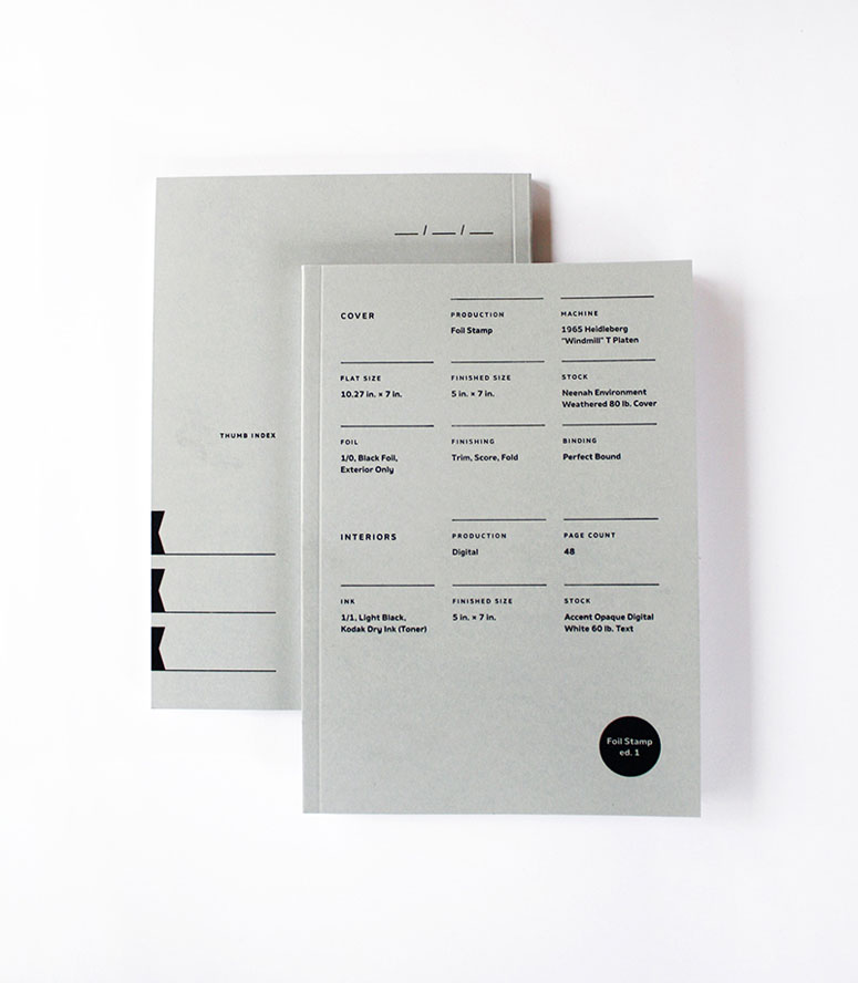Print Prologue Notebooks -- First Edition