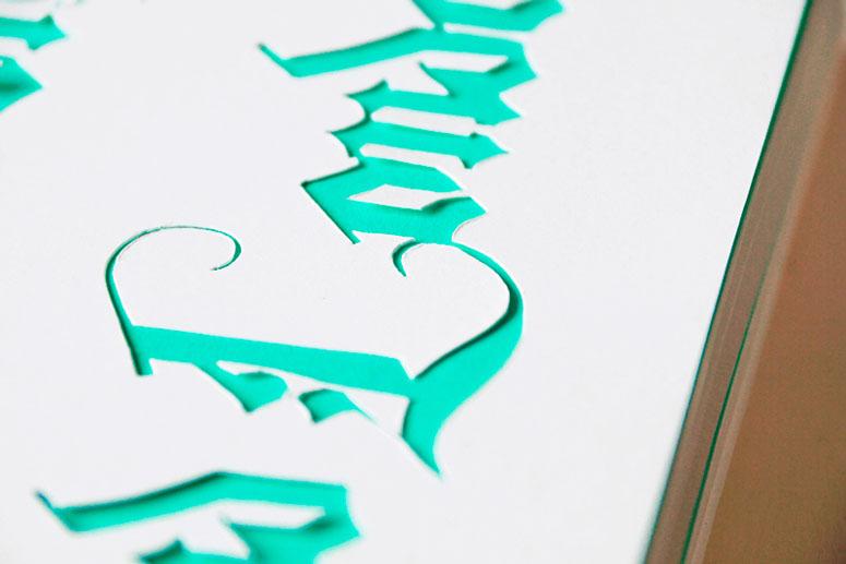 Self-Promotion Typographic Travel Journal