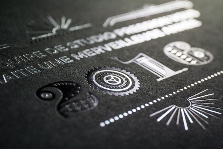 Studio Pression 2016 Greeting card
