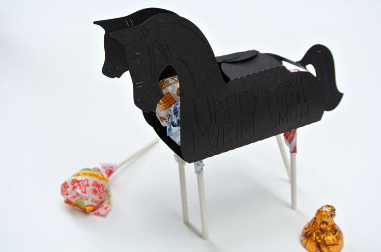 Purim Horse Mishloach Manot Boxes