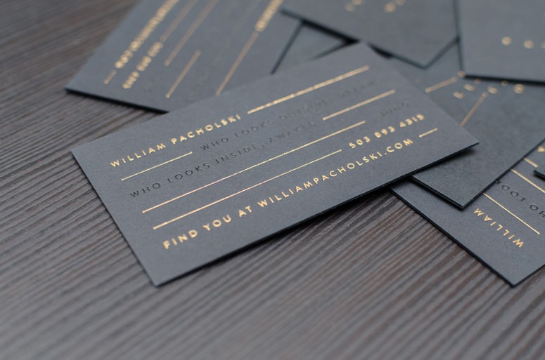 William Pacholski Business Cards