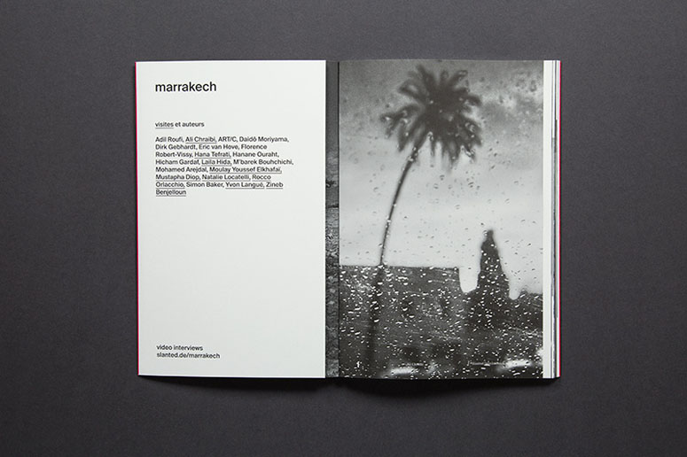 Slanted Special Issue--Marrakech