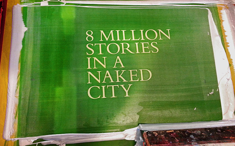 8 Million Stories in a Naked City